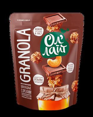 """Гранола """"Ол Лайт"""" шоколадная с орехами"""