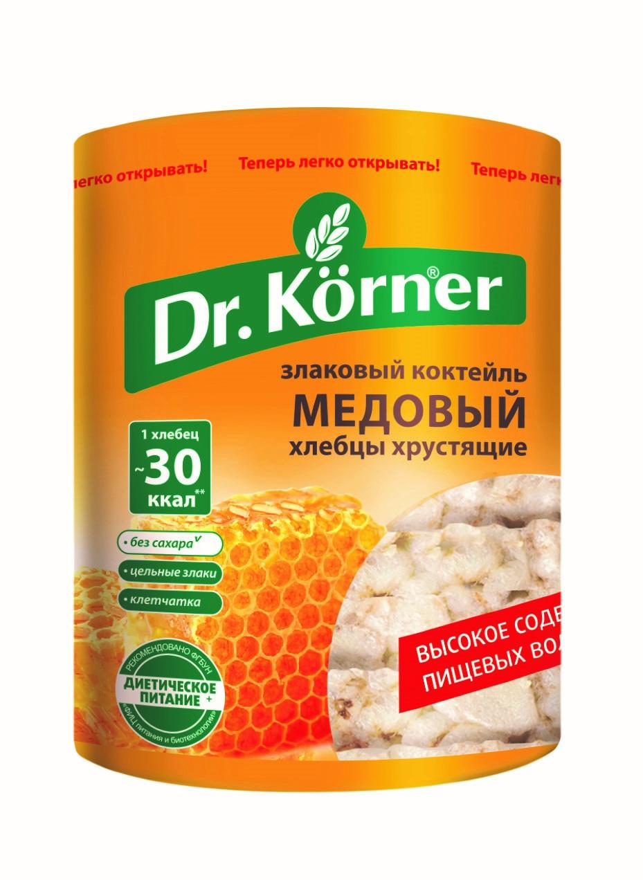 Хлебцы Dr.Korner «Злаковый коктейль» Медовый