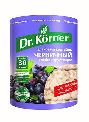 Хлебцы Dr.Korner «Злаковый коктейль» Черничный
