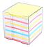 """Бумага для заметок 9*9*9см цветная с подставкой Стамм """"Офис"""""""", фото 2"""