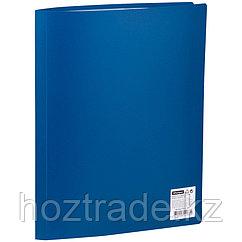Папка с 30 вкладышами OfficeSpace, 15 мм, 500 мкм, синяя