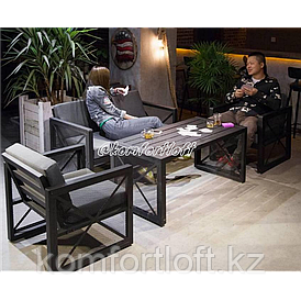 Комплект мягкой мебели в стиле Loft