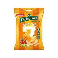 Чипсы Dr.Korner цельнозерновые кукурузно-рисовые с сыром начо