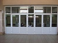Алюминиевые витражи и витрины