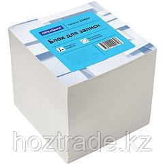 Блок для записи OfficeSpace 8*8*8 см, белый