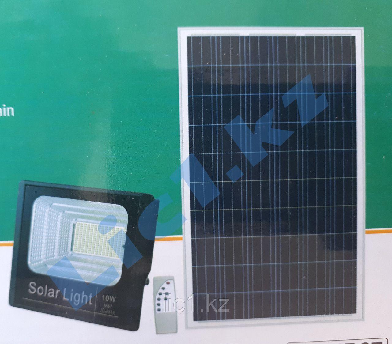 Прожектор на солнечной батарее светодиодный  SF1 10 Вт