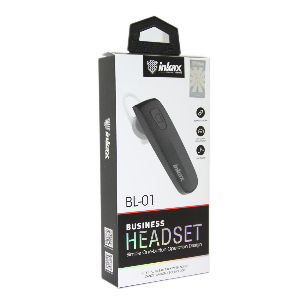 Гарнитура INKAX BL-01 Bluetooth
