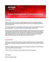 Компания Ай Ти Эс Ком подтвердила официальный статус партнерства Avaya