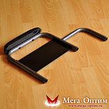 Надежная инвалидная коляска с сиденьем 61 см и удобной единой ручкой Мега Оптим FS 874 B-51, фото 7