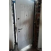 Дверь стальная с внутренним открыванием