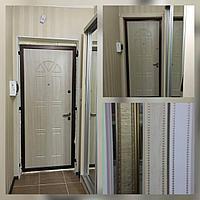 Дверь стальная металл снаружи внутри МДФ