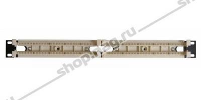 """Кросс-панель тип 110 до 100 пар, в 19"""" конструктив"""