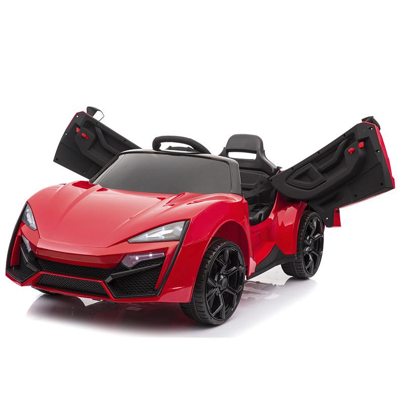 Электромобиль детский Lykan Hypersport, красный