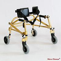 Ходунки для больных ДЦП 4-х колёсах HMP-KA 1200 (высота 500 600 мм)