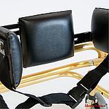 Ходунки для больных ДЦП 4-х колёсах HMP-KA 1200 (высота 500 — 600 мм), фото 3