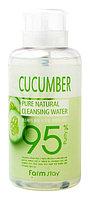 Farm Stay Pure Cleansing Water Cucumber-Очищающая вода с экстрактом огурца