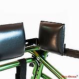 Ходунки для больных ДЦП  на 4-х колёсах HMP-KA 2200 с подлокотной опорой (высота 610-780 мм), фото 7