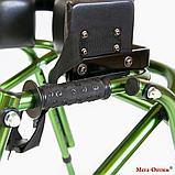 Ходунки для больных ДЦП  на 4-х колёсах HMP-KA 2200 с подлокотной опорой (высота 610-780 мм), фото 9