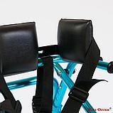 Ходунки для больных ДЦП на 4-х колёсах HMP-KA 3200 с подлокотной опорой (высота 710-900 мм), фото 10