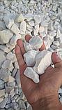 Белая мраморная крошка для ландшафтного дизайна, фото 3