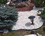 Белая мраморная крошка для ландшафтного дизайна, фото 4
