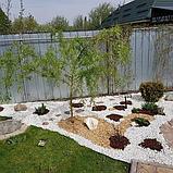 Белая мраморная крошка для ландшафтного дизайна, фото 7