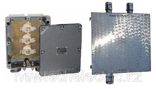 Коробки зажимов cерии КЗВВ, высоковольтные на 2,2кВ, 6кВ и 10кВ
