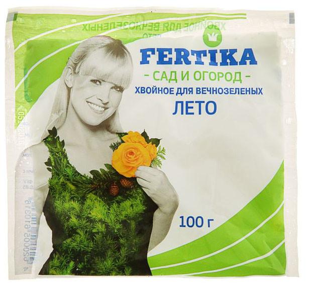 Удобрение Фертика Хвойное для Вечнозеленых. Лето 100 г
