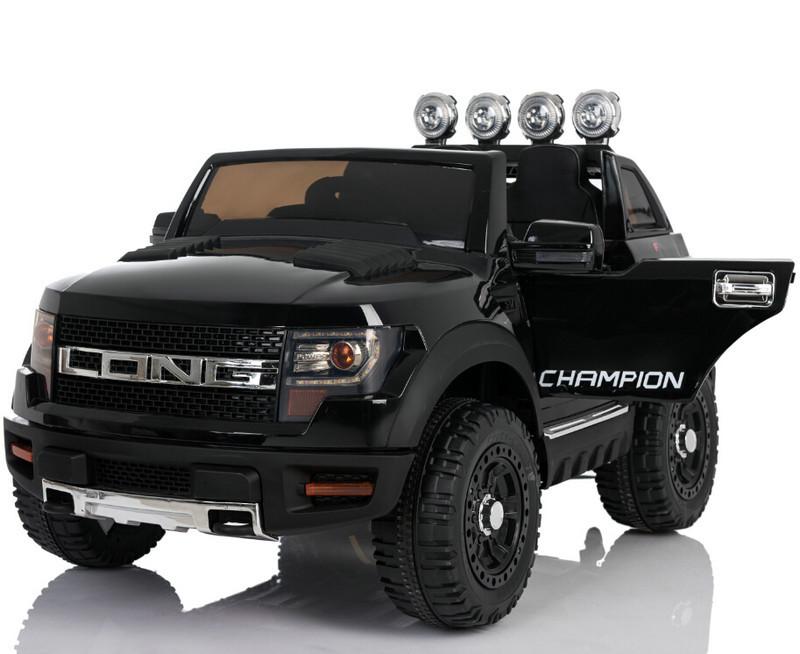 Электромобиль детский Ford LONG, черный