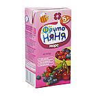 """Морс """"Фруто Няня"""" клюквенно-чернично-вишневый  для питания детей раннего возраста 200 мл"""