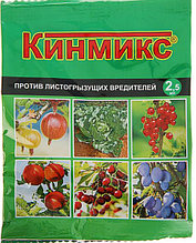 Средство для обработки плодовых деревьев от вредителей Кинмикс, пакет, ампула 2,5 мл