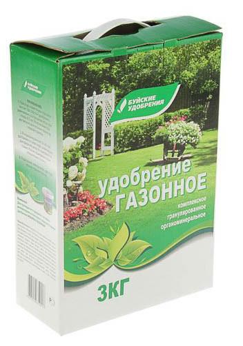 """Удобрение органоминеральное """"Газонное"""", 3 кг"""