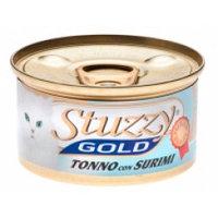Stuzzy Gold консервы для кошек (кусочки тунца с крабовыми палочками в собственном соку) 85 гр.