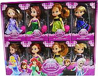 8780 My first Princess Принцессы 4 вида из 8шт 17*10см цена за 1шт, фото 1
