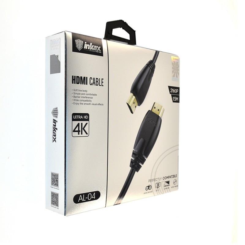 Кабель INKAX AL-04 HDMI 1.5 m