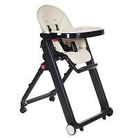 Детский стульчик для кормления Pituso Ivolia Бежевый, фото 1