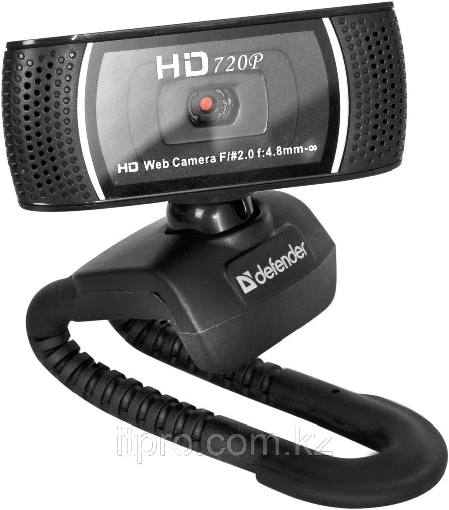 WEB-камера Defender G-lens 2597 HD 720p 2МП, USB