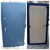 Дверь стальная снаружи металл внутри МДФ