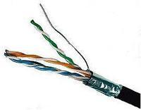 Кабель сетевой FTP cat.5e КСВППэ-5е 4*2*0,52