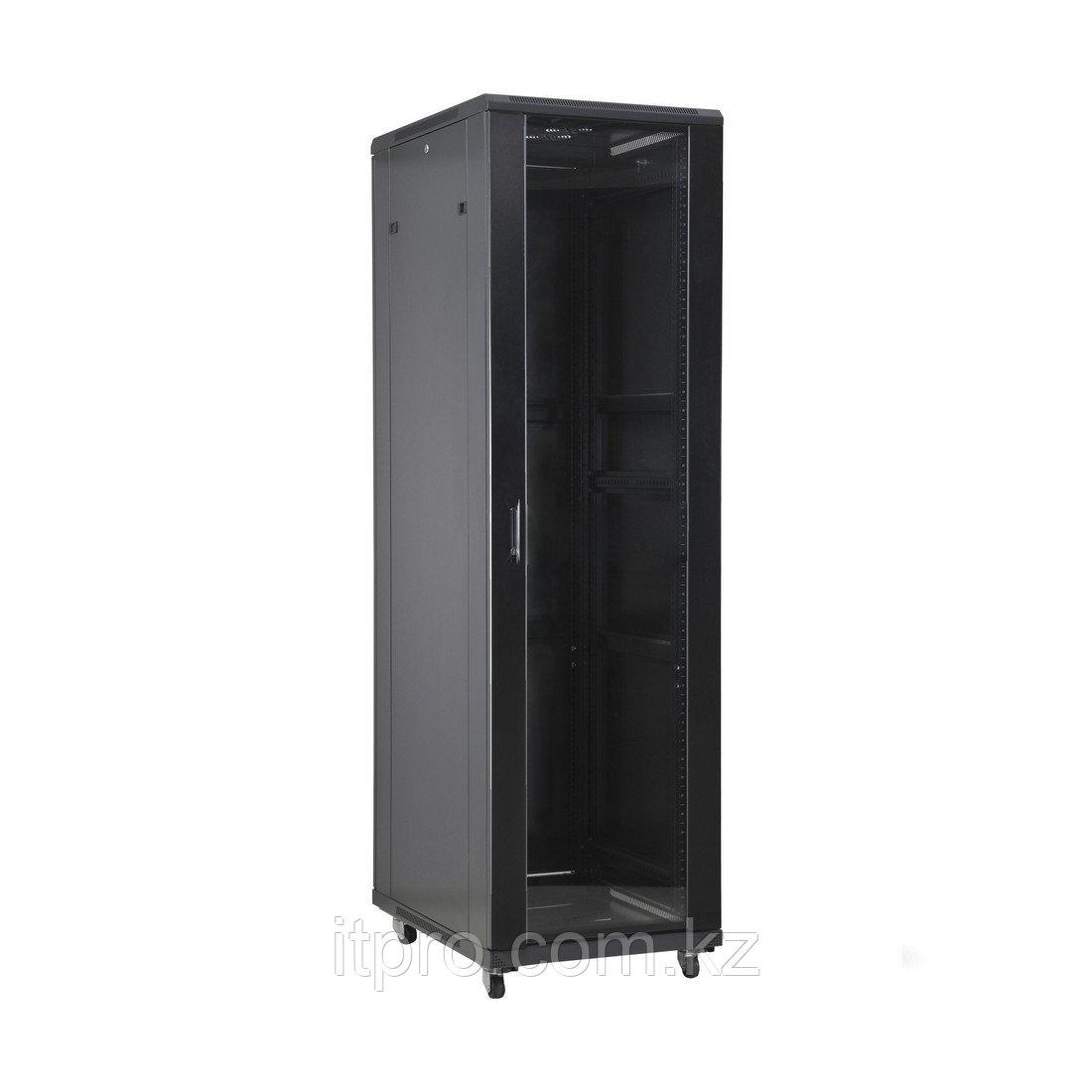 Шкаф серверный SHIP 601S.6815.03.100, 103 серия, 19'' 15U, 600*800*800, Чёрный