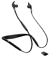 Гарнитура Jabra Evolve 75e MS & Link 370, фото 1