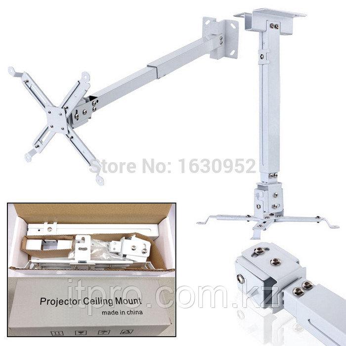 Потолочное крепление для проектора, до 20кг, 43-65см.