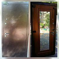Дверь стальная снаружи металл внутри мдф и зеркало