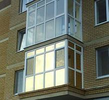 Французское остекление балконов