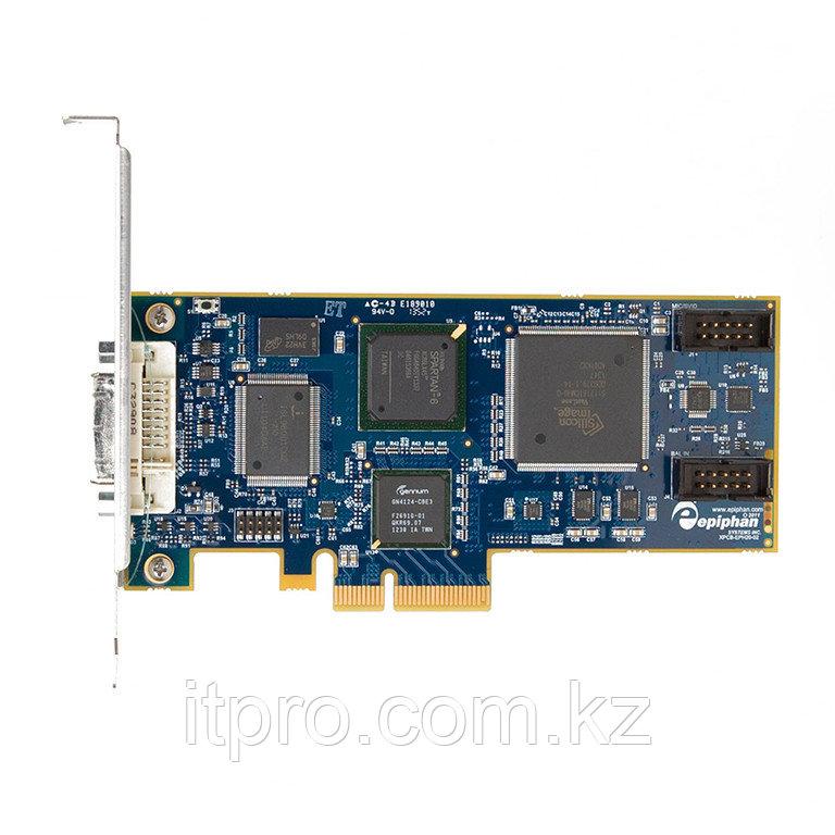 Карта в ПК видеозахвата Epiphan DVI2PCIe (DVI, HDMI, VGA, DP, Thunderbolt в ПК)