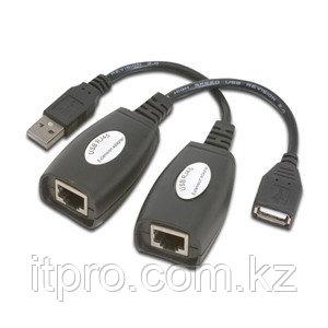 Удлинитель USB по RJ45 Measy USB-RJXT-50M