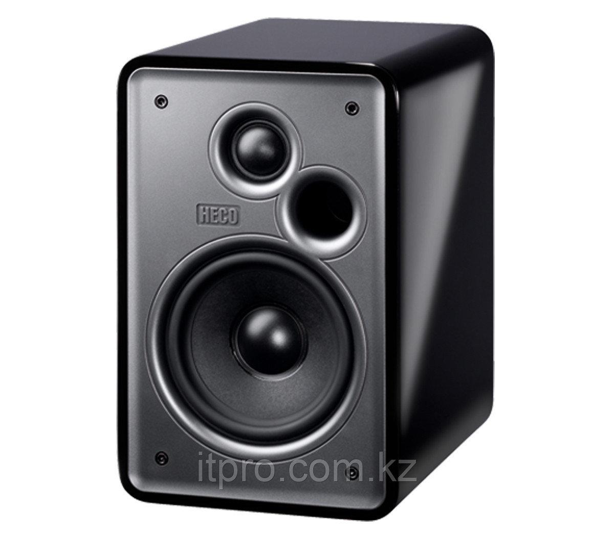 Полочный громкоговоритель HECO Music Colors 100, high gloss black