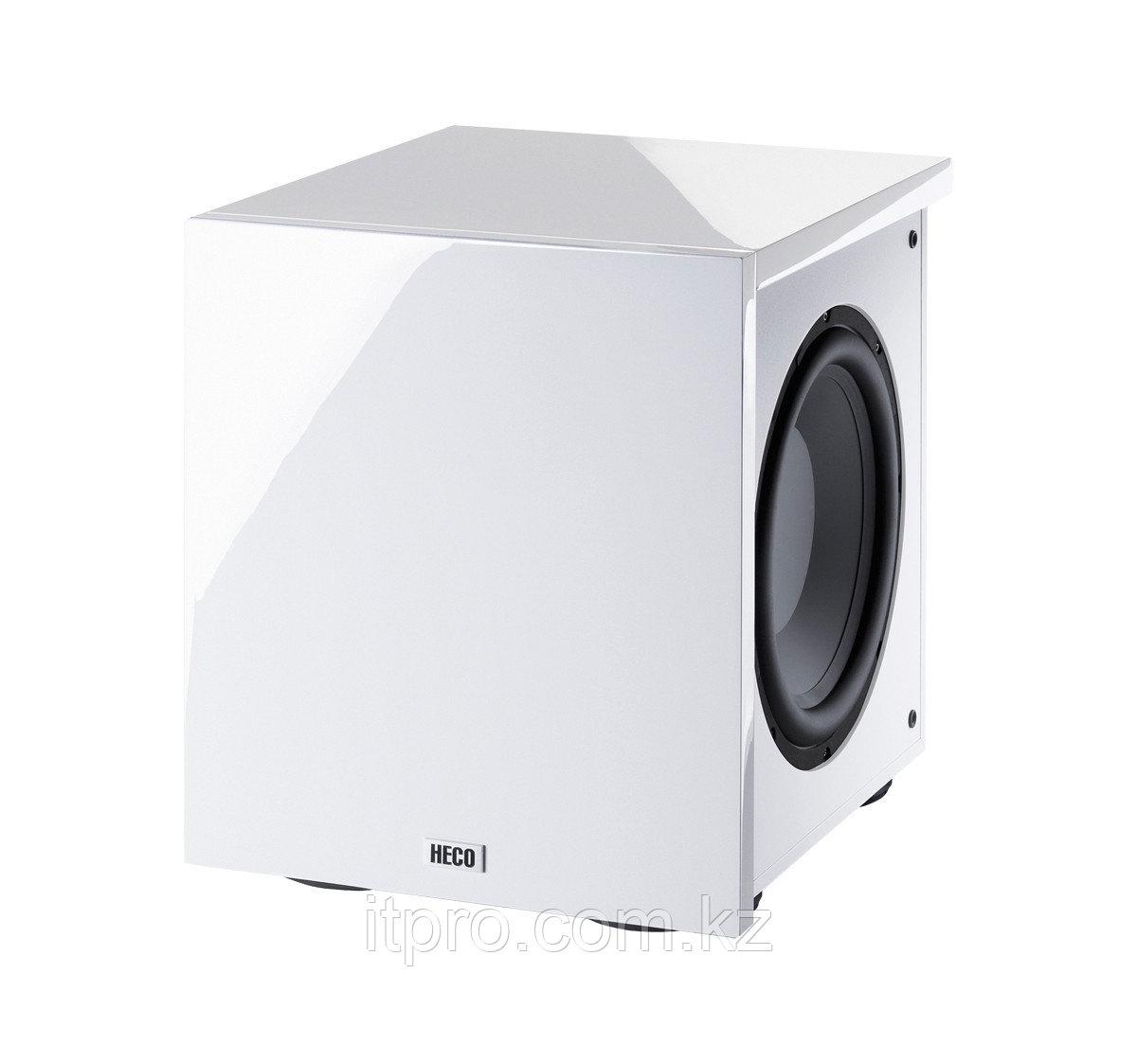 Активный сабвуфер HECO New Phalanx Micro 302A piano white