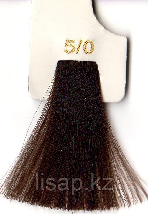 Краска для волос LK светлый шатен 5/0