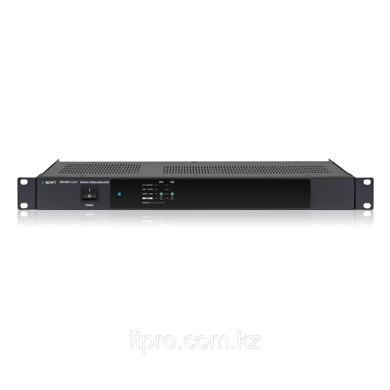 Трансляционный усилитель 2-х канальный Apart REVAMP2120T